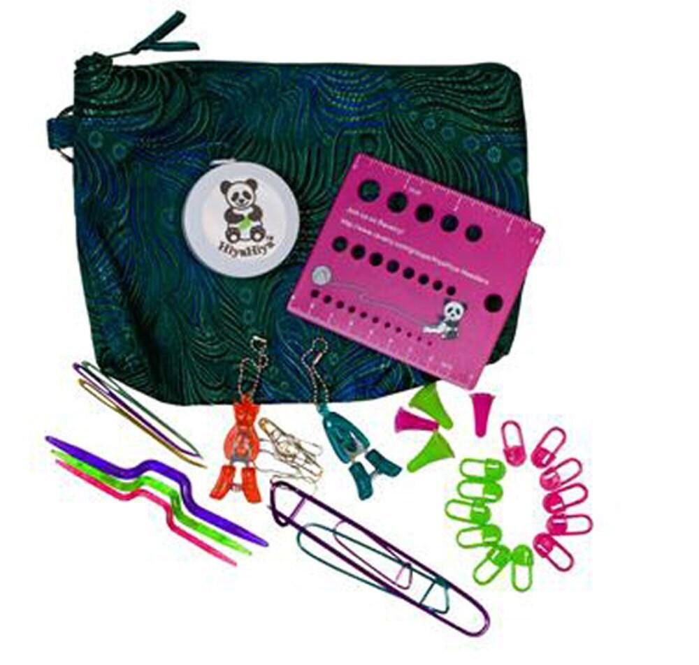 Knitting Gift Set : Hiyahiya knitting accessory gift set with by