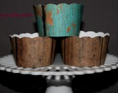 Rustic Pallet Cupcake Wrappers