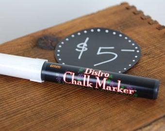 White Chalkboard Chalk Pen Marker Pen, 6mm