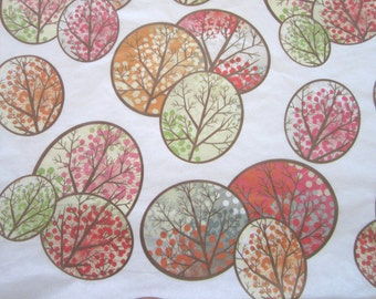 Fall Promenade print tissue paper - Exclusive