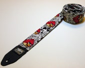 Clearance 38% off Phone app-themed handmade double padded guitar strap - This is NOT a licensed product