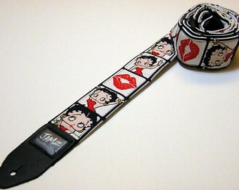 Handmade Comic Book style Guitar Strap - This is NOT a licensed product.