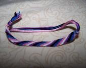 Genderfluid Pride Friendship Bracelet