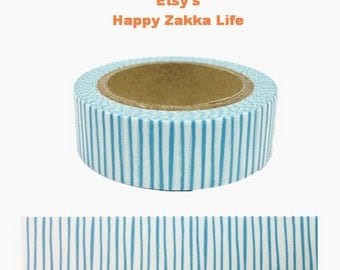 Water Line - Japanese Washi Masking Tape - 11 yards