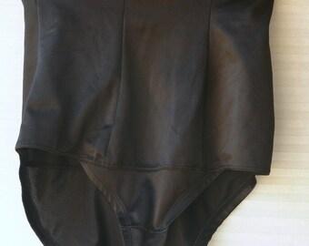 black control top panties plus size 2xl