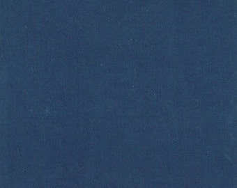 Organic Blue Fabric - Little Things Organic by Arrin Turnmire from Moda 1 Yard