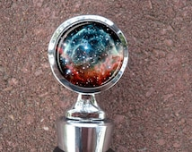 Nebula Space Science Wedding Wine Stopper House Warming Gift Bridal shower