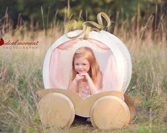FREE SHIPPING Pumpkin Carriage Photo Prop
