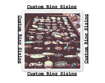 Custom Sizing Sterling Silver Ring