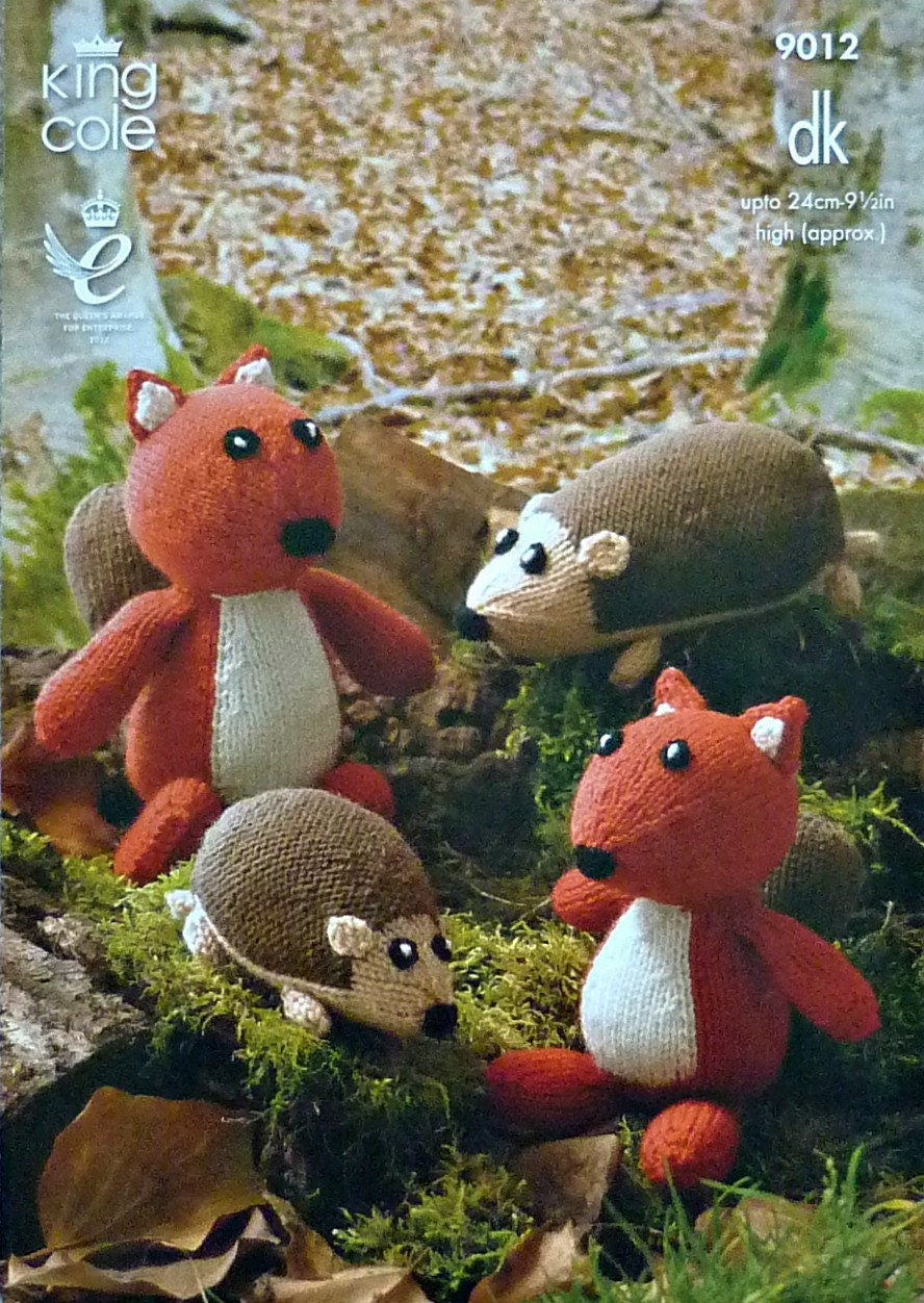 Soft Toy Pattern K9012 Mother and Baby Squirrels, Mother ...