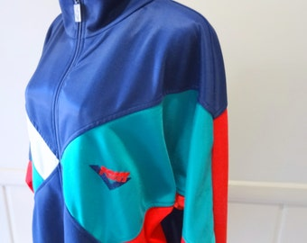 Vintage Pony Size Large Zippered Jacket 1980s