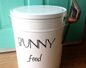 Bunny Food Storage Tin