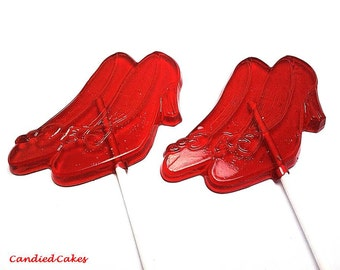 12 LARGE HIGH HEEL Shoe Lollipops