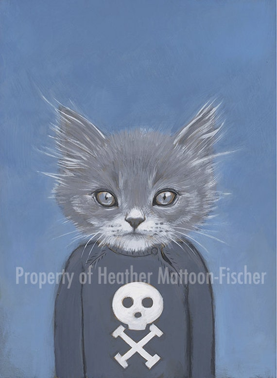 Henry - Matte Print - From Painting by Heather Mattoon