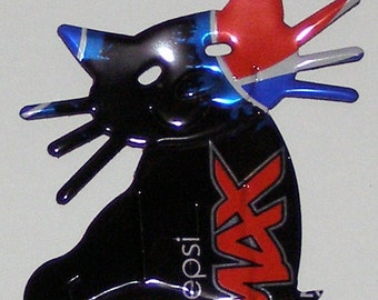 Cat Magnet - 'Whiskers' - Pepsi MAX Soda Can