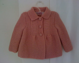 Little Princess Coat - For 1 to 1.5 Year Old Girls - Ready for Shipping - Worldwide Shipping