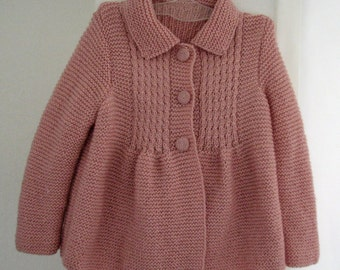 Little Princess Coat - For 2 to 3 Year Olds - Ready for Shipping - Worldwide Shipping