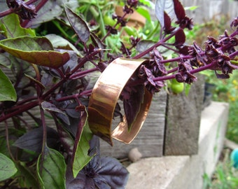 Upcycled Brass Drum Cymbal Cuff Bracelet Recycled Metal Jewlery