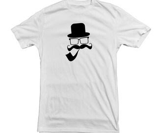 Mustache Man T Shirt