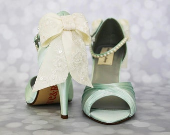 CUSTOM CONSULTATION: Design Your Own Wedding Shoes Ivory