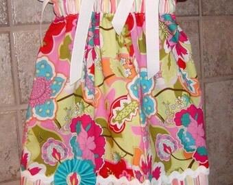 Girls Pillowcase Dress Infant toddler Custom..Summer Fun...sizes 0-6, 6-12, 12-18, 18-24 months, 2T, 3T..Bigger sizes AVAILABLE