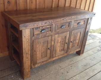 Oak Butcher Block Kitchen Island : Dark Oak Butcher Block Kitchen Island