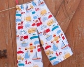 "Pants Pattern PDF INSTANT DOWNLOAD, Boys and Girls Simple Lounge Pants Sewing Tutorial Pdf sizes 6m through to 8 years ""Lounge Pants"""
