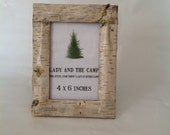 Maine Birch Bark Frame - 4x6