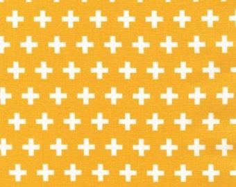 Yellow Remix Crosses from Robert Kaufman