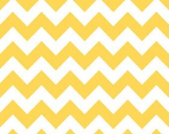 Yellow Medium Chevron from Riley Blake