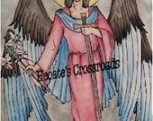 Archangel Gabriel 81/2X11in. Signed print