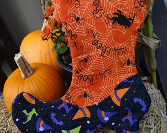 Witch Stocking #9 Wiccan Pagan Handmade Home Decor by VTwiccan