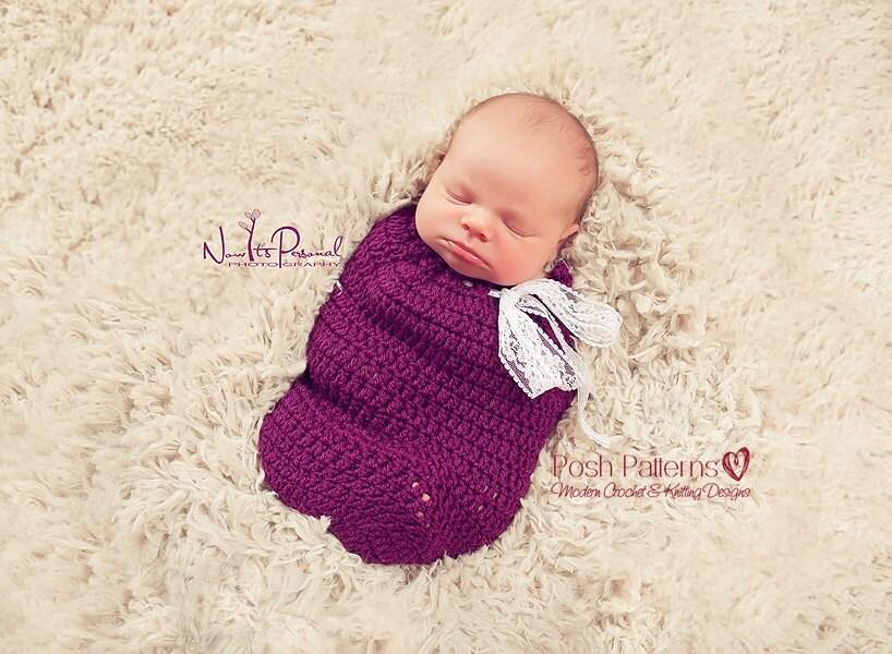 Easy Crochet Baby Cocoon Pattern : Crochet PATTERN Crochet Tutorial Crochet Cocoon Pattern
