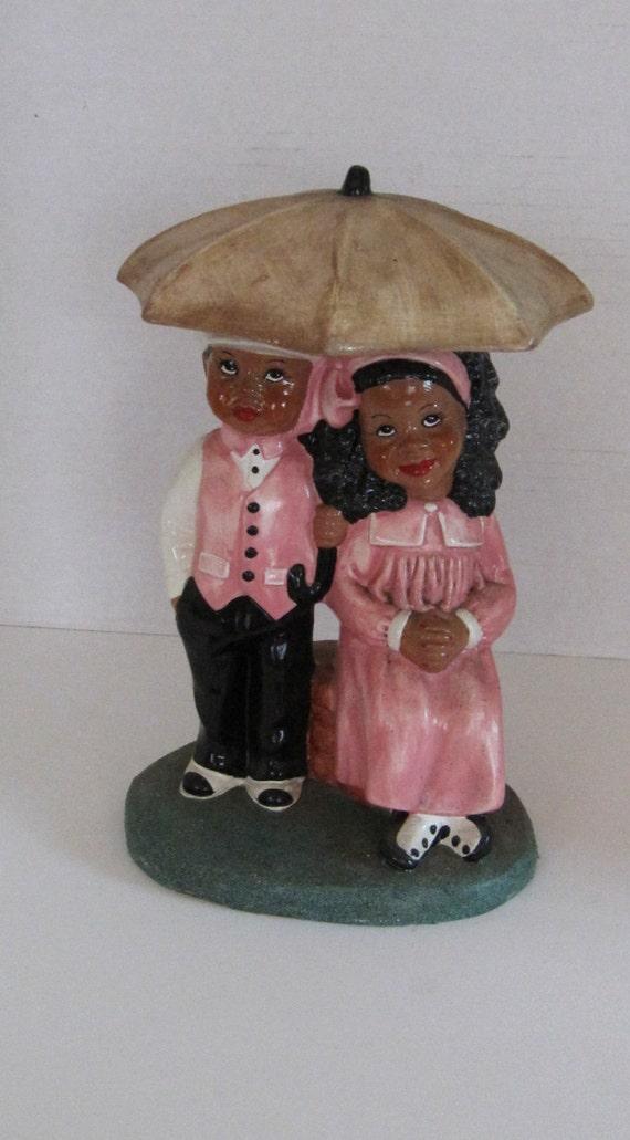 Ebony Figurine 118
