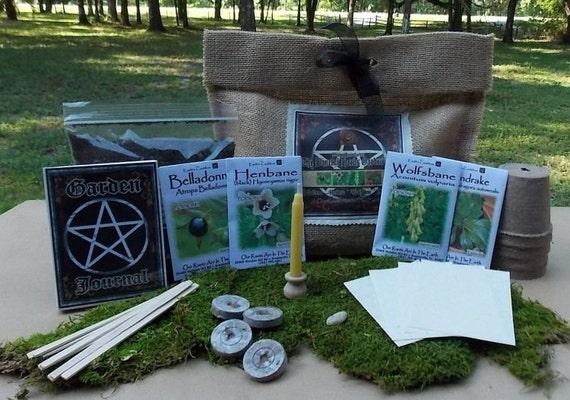 Witches Herb Garden The Baneful Herbs Garden Kit