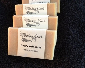 Goats Milk and shea butter hand made soap