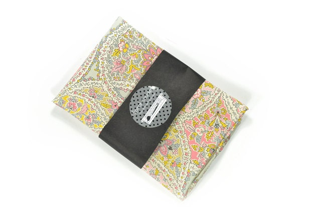 Wedding Mens Pocket Square Pink Gold And Grey/blue By