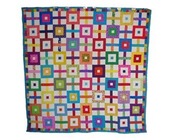 Gridlock patchwork Quilt