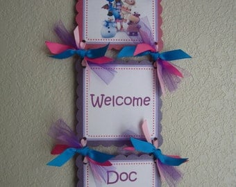 Doc McStuffins Door Sign
