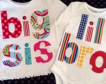 Big Little Brother/Sister Shirt Combo