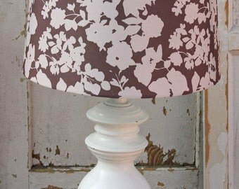 Brass Lamp Painted White By Foo Foo La La