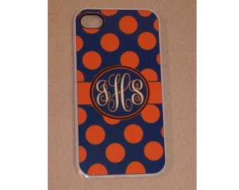 Personalized Iphone Case - Polka Dots