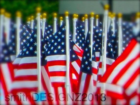American Flag Photography USA Photography Home Decor