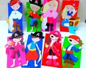 SALE Pirate  Party Favor Bags Full body