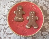 Gingerbread boy girl cookie decorations  2 dsuesquilts