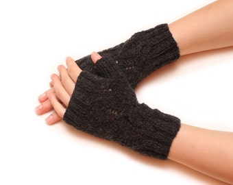 Autumn arm warmers - fall clothes, armwarmers, handwarmers, fingerless gloves, knitted gloves, womens mittens, womens gloves
