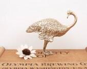 vintage ostrich figurine