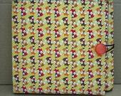 Circular knitting needle case. Fox fabric.