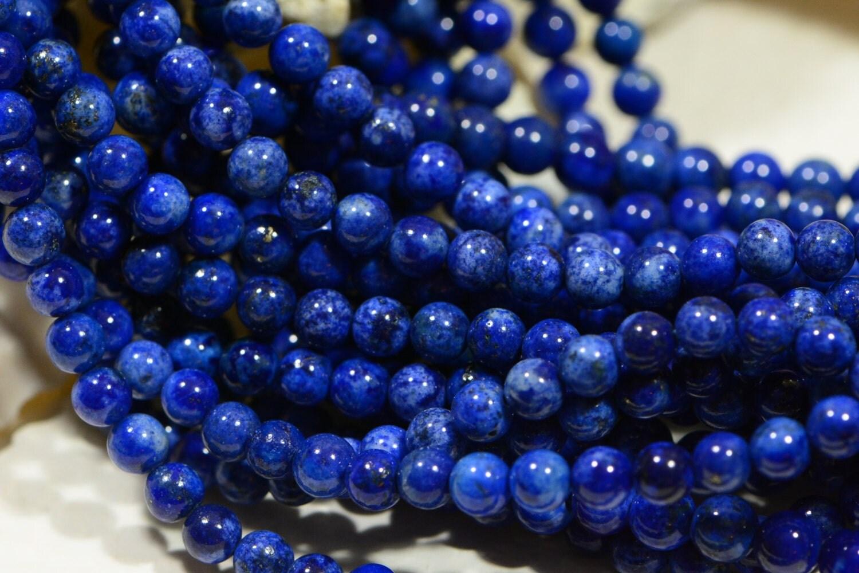 lapis lazuli 4mm royal blue natural lapis by dwaynescabochons. Black Bedroom Furniture Sets. Home Design Ideas