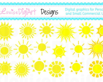 Sunshine clipart for Personal and Small Commercial Use